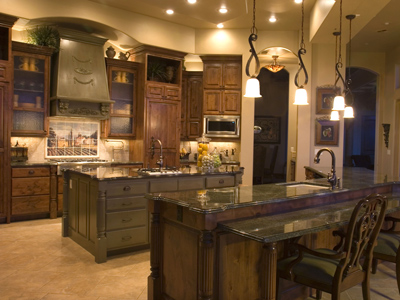 Kitchen online parade of homes tuscan style indasro - wooden