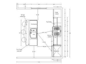 Southern utah 39 s only certified kitchen designer providing for 12 x 20 kitchen plans
