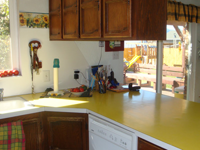 Beau Worst Kitchen Contest By Portrait Kitchens Enter For Your Chance To.  Granite Countertop Colors   Yellow Granite