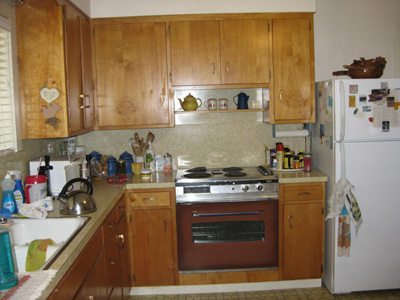 There Is Not Enough Counter Space, And The Counters Are Chipped. The  Cabinet Doors Do Not Close. We Would Really Appreciate The Chance To Win A New  Kitchen!